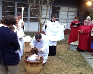 Annaliese Baptism